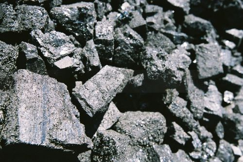 Close up detail photo of coal. - Mining Photo Stock Library