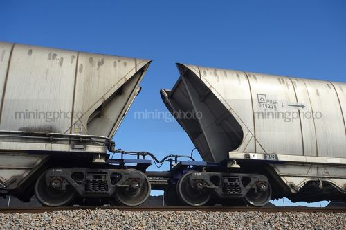 Batgirl coal carriage - Mining Photo Stock Library