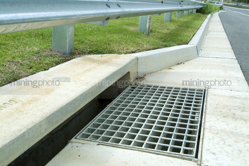 Stormwater Drainage Collection Boxes : Mining photo resource stock library