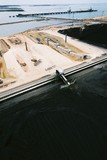 Mining Photo Stock Library - aerial of construction of rail facility at a coal port ( Weight: 3  New Image: NO)