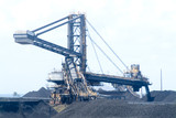 Mining Photo Stock Library - coal loader stockpiling at  port terminal  ( Weight: 1  New Image: NO)