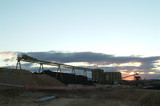 Mining Photo Stock Library - coal conveyor stockpiling at sunset ( Weight: 4  New Image: NO)