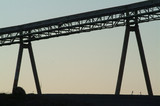 Mining Photo Stock Library - Silhouette of a conveyor  ( Weight: 4  New Image: NO)