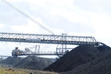 Mining Photo Stock Library - coal loaders and reclaimers working stockpiling at port facility ( Weight: 2  New Image: NO)