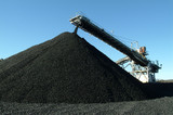 Mining Photo Stock Library - track conveyor loader stockpiling coal ( Weight: 1  New Image: NO)