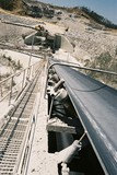 Mining Photo Stock Library - photo taken at top of stockpile conveyor looking back to open cut mine  ( Weight: 2  New Image: NO)