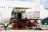 Mining Photo Stock Library - airline cargo freight boxes being loaded into plane ( Weight: 2  New Image: NO)
