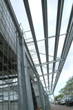 Mining Photo Stock Library - steel framework of building in construction adjacent to public road ( Weight: 5  New Image: NO)
