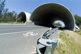 Mining Photo Stock Library - shot of bebo archway bridge showing koala crossing and bikeway  ( Weight: 2  New Image: NO)