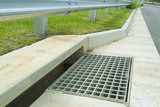 Mining Photo Stock Library - new stormwater drain and gutter in property subdivision ( Weight: 1  New Image: NO)