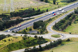 Mining Photo Stock Library - aerial of roundabout off ramp from major highway transport system ( Weight: 1  New Image: NO)