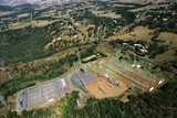 Mining Photo Stock Library - aerial of electricity substation for rural town ( Weight: 1  New Image: NO)