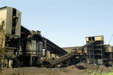 Mining Photo Stock Library - mine wash processing plant with  multiple conveyors