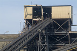 Mining Photo Stock Library - conveyor leaving wash processing plant ( Weight: 2  New Image: NO)