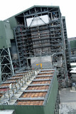 Mining Photo Stock Library - looking into a power station at height ( Weight: 3  New Image: NO)