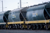 Mining Photo Stock Library - heavy rail freight carriages ( Weight: 1  New Image: NO)