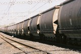 Mining Photo Stock Library - many coal train heavy rail carriages  ( Weight: 4  New Image: NO)