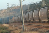 Mining Photo Stock Library - coal train carriages on track in mine site environment ( Weight: 3  New Image: NO)