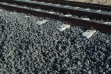 Mining Photo Stock Library - closeup of domestic rail track ( Weight: 4  New Image: NO)
