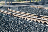 Mining Photo Stock Library - closeup of rail track  ( Weight: 3  New Image: NO)