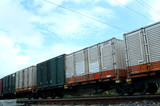 Mining Photo Stock Library - closeup of freight trains goods carriages ( Weight: 2  New Image: NO)