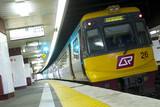 Mining Photo Stock Library - domestic light rail train at commuter station. ( Weight: 1  New Image: NO)