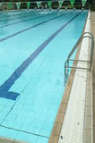 Mining Photo Stock Library - edge of a swimming pool showing ladder ( Weight: 5  New Image: NO)