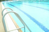 Mining Photo Stock Library - swimming pool swim ladder ( Weight: 5  New Image: NO)
