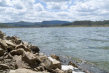 Mining Photo Stock Library - rock wall edge of city water supply dam ( Weight: 5  New Image: NO)