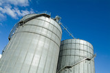 Mining Photo Stock Library - storage silos on cattle feedlot  ( Weight: 3  New Image: NO)