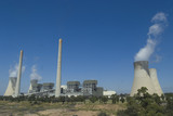 Mining Photo Stock Library - cooling towers and power station ( Weight: 1  New Image: NO)