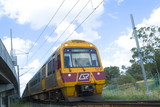 Mining Photo Stock Library - light rail train traveling towards the camera. ( Weight: 2  New Image: NO)