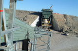 Mining Photo Stock Library - hopper and conveyor being constructed ( Weight: 5  New Image: NO)