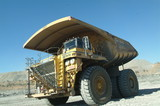 Mining Photo Stock Library - empty haul truck at the go line ( Weight: 5  New Image: NO)