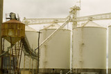 Mining Photo Stock Library - large rural grain silos ( Weight: 5  New Image: NO)