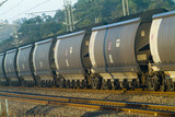 Mining Photo Stock Library - loaded coal rail carriages ( Weight: 4  New Image: NO)