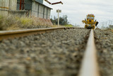 Mining Photo Stock Library - heavy rail maintenance in rural areas. shot at track level. ( Weight: 2  New Image: NO)