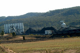 Mining Photo Stock Library - coal wash plant production conveyors.  good panorama strip shot ( Weight: 5  New Image: NO)