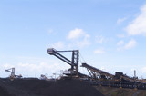 Mining Photo Stock Library - reclaimers at coal terminal. ( Weight: 5  New Image: NO)