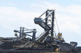 Mining Photo Stock Library - reclaimers, loaders and conveyors with stockpiles of coal. ( Weight: 4  New Image: NO)