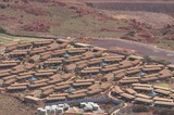 Mining Photo Stock Library - aerial shot of mine camp in Pilbarra.  photo shows many houses and camp layout. ( Weight: 1  New Image: NO)