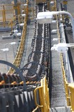 Mining Photo Stock Library - close up vertical shot of coal conveyor moving at wash plant in open cut coal mine. ( Weight: 1  New Image: NO)