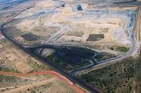 Mining Photo Stock Library - aerial photo of open cut coal mine. ( Weight: 1  New Image: NO)