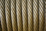 Mining Photo Stock Library - close up shot of rolled cable. ( Weight: 1  New Image: NO)