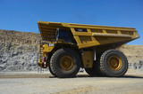 Mining Photo Stock Library - haul truck moving on mine access road in open cut coal mine. ( Weight: 1  New Image: NO)