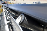 Mining Photo Stock Library - close up photo of a conveyor at a mine site. ( Weight: 1  New Image: NO)