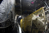 Mining Photo Stock Library - machinery working in underground coal mine. ( Weight: 1  New Image: NO)