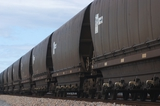 Mining Photo Stock Library - close up photo of heavy rail carriages for coal. ( Weight: 1  New Image: NO)