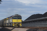 Mining Photo Stock Library - coal train next to coal stockpiles. ( Weight: 1  New Image: NO)