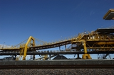 Mining Photo Stock Library - up close photo of coal shiploader. ( Weight: 1  New Image: NO)